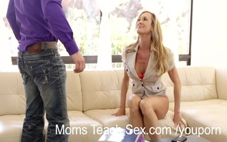 mommy eats stepdaughters creampie vagina