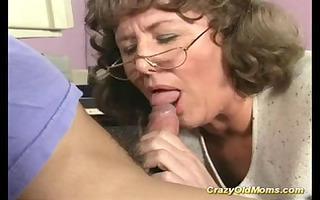 insane old mama receives deep love tunnel fuck