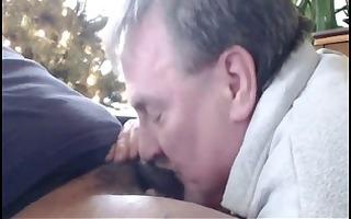 dad sucks darksome wang