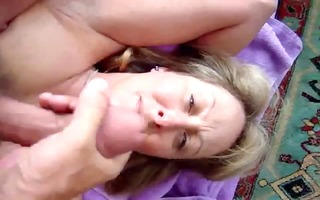 facialization of a sexy wife