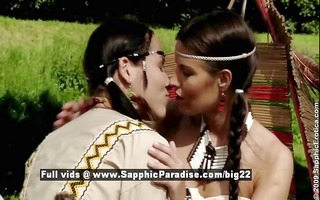 devin and klara from sapphic erotica lesbo angels