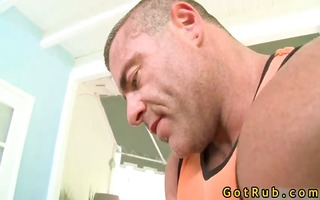 latin hunk receives rimmed and fucked