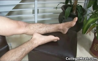 chandler cane stroking his cute college part5