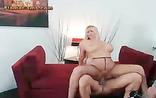 giant pantoons blonde mother i riding dick