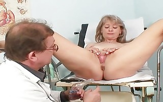 hawt golden-haired mother i acquires her slit