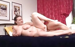 pierced german older big beautiful woman