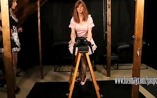 perverted shemale maid luci may has joy drubbing