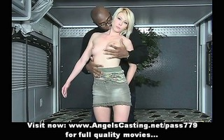 enjoyable superb hot short hair blond playgirl