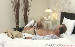 mama blond breasty d like to fuck has multiple