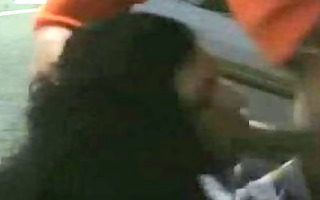 amateurs in the parking lot