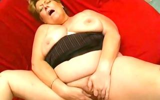 granny large glamorous woman