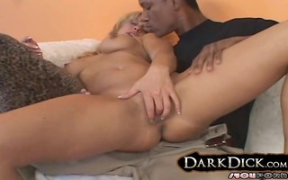 older white wife drilled by darksome chap