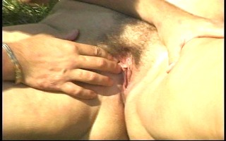 older big beautiful woman acquires drilled on the