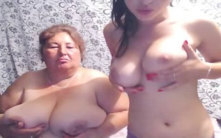 older big beautiful woman mother and not her