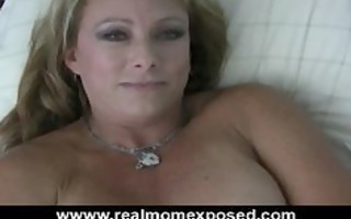 breasty mommy bliss vibrator fucking in sofa