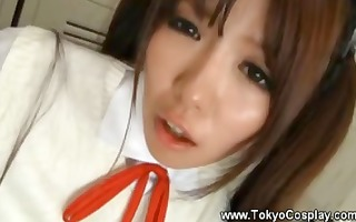 oriental legal age teenager gets her navel licked