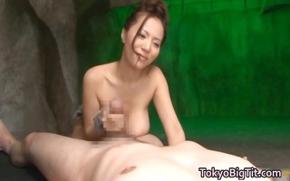 breasty ruri saijo tit bonks and sucks him part7