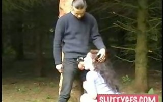couple fuck in the woods