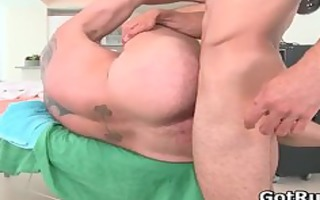 massage pro acquires his worthwhile gazoo drilled