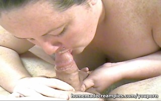 big beautiful woman wife receives creampie