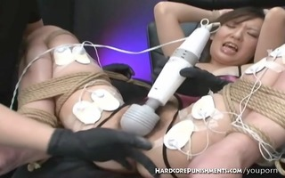 outlandish japanese sadomasochism electro-play