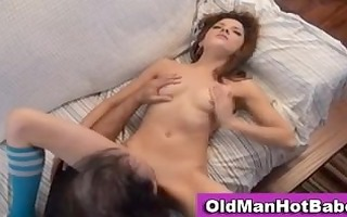 old chap copulates hawt younger chick