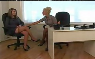 lesbo at the office 10 of 11 d83 lesbo cutie on