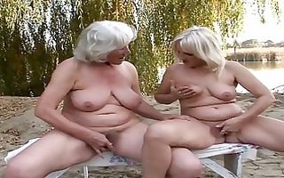 delightful lesbo grannies fervent cunt pleasure