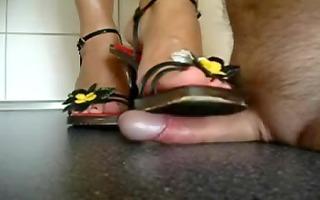 flower heels shoejob