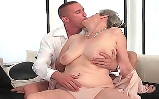 nasty obese grandmas sex compilation