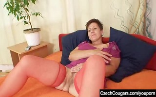 non-professional housewife plus massive natural