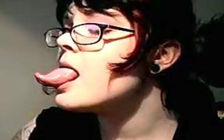 large moist tongue fetish 310
