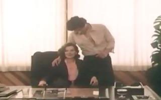 vintage office sex scene