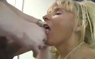 older breasty cougar copulates younger chap