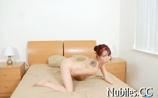 playgirl plays with fat pecker