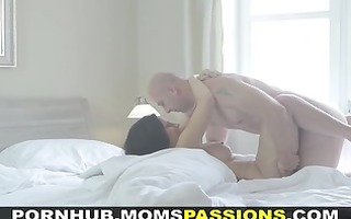 mommys passions - morning sex for vehement mamma
