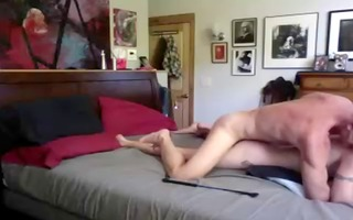 tall large penis dad spanks and breeds twink