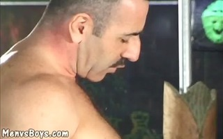 skillful card player bangs twinky loser in the