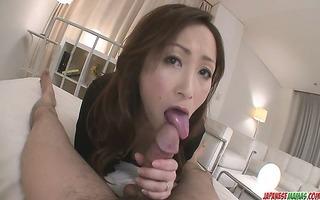 lewd mother i playgirl miyama ranko rides knob on
