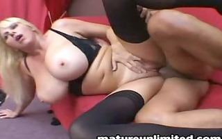 breasty mama receive crazy fuck and engulf