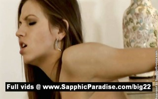 juliette and salma and daphne lesbos fingering