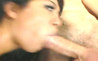 hawt asian receives creampied
