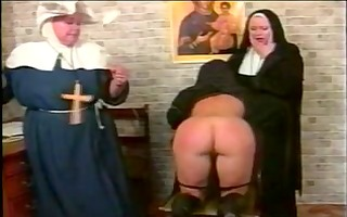 amoral lesbian nuns s&m style