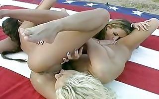 hot lesbian babes felecia and allies having