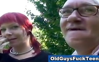 old boy oral sex by sexy younger honey