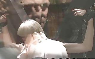 perverted rocco siffredi receives his pecker