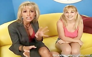 mother daughter wang engulf and fuck