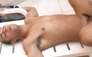 sexy ethnic man hardcore homo barebacking