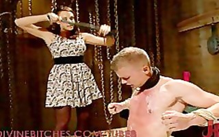 male serf tormented by chanel preston