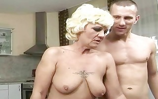 sexy granny enjoys worthy fucking